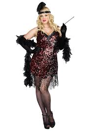 plus size couple halloween costumes ideas plus size dames like us flapper costume
