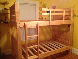 Plans For Building Bunk Beds by Ana White Sturdy Bunk Beds Diy Projects