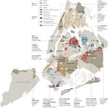 Map New York City by Map Of New York City U0027s Ethnic Neighborhoods Map Nytimes Com