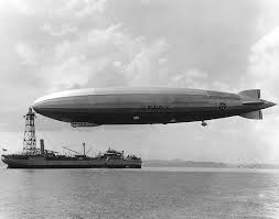 USS Los Angeles, a US Navy zeppelin built by the Zeppelin Company