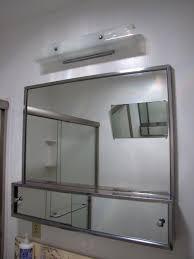 Mirror Ideas For Bathroom by Bathroom Stainless Framed Cabinet Mirror For Bathroom Cabinet