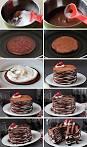 เค้กช็อกโกแลตแพนเค้ก เต็มอิ่มกับช็อกโกแลตและวิปครีม | อร่อยเหาะดอท ...