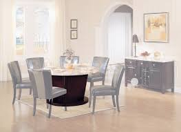 Acme Furniture Dining Room Set Round Black Marble Dining Room Set By Acme Furniture Acme