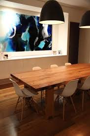 Best Timber Dining Tables Images On Pinterest Custom Dining - Timber kitchen table