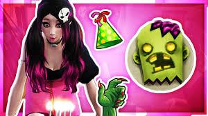 zombie birthday party the sims 4 monster high part 42 youtube