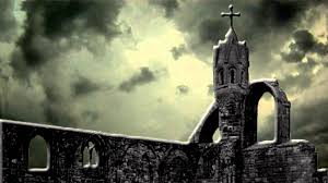 scary moon background scary halloween haunted church free background video 1080p hd
