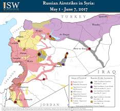 Iraq Syria Map by Isw Blog Russia U0027s Maneuvers In Syria May 1 June 7 2017