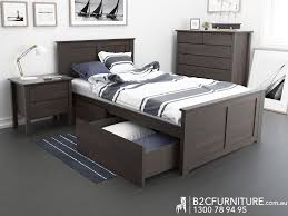 Single Bedroom Furniture King Single Beds Kids Beds Storage Hardwood B2c Furniture