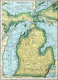 Map Of University Of Michigan by Michigan Genealogy Free Genealogy Access Genealogy