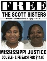 Rally Held to Free The Scott Sisters