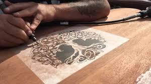 dremel wood carving project headboard part 1 dremel pinterest