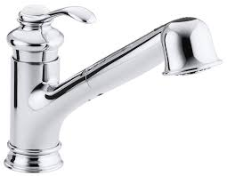 Repairing A Kitchen Faucet by Kohler K 12177 Cp Fairfax Single Control Kitchen Sink Faucet