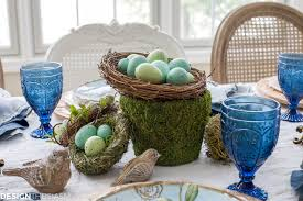 Easter Decorations For Home Elegant Easter Table Decorations For A Holiday Brunch