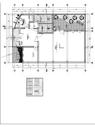 Community Center Floor Plans Community Center Community Hall Multipurpose Hall 2d Dwg Plan