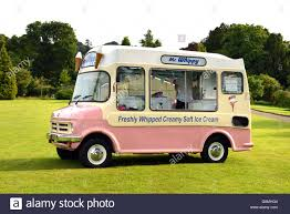Vintage Ford Ice Cream Truck - vintage mr whippy ice cream van stock photo royalty free image