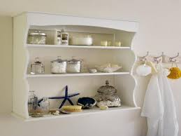 wall mounted metal bathroom shelves