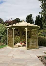 Small Gazebos For Patios by Gazebos Garden Buildings Robert Dyas