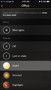 how to set a timer for your philips hue lights