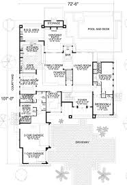 Contemporary Home Plans And Designs Modern Style House Plan 4 Beds 4 50 Baths 5555 Sq Ft Plan 420 172