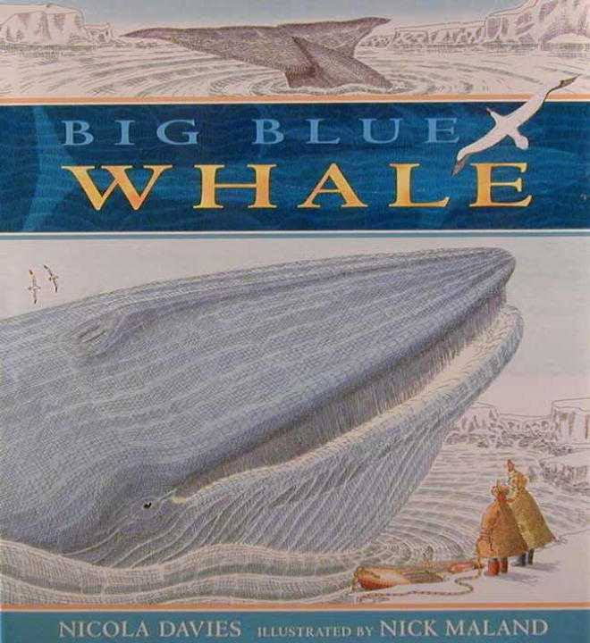 Image result for big blue whale book