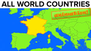 Pictures Of World Map by All World Countries Map Flag Capital City Pronunciation