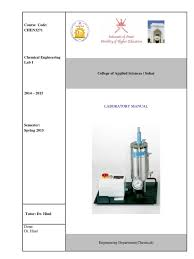 chemical engineering lab i manual sp15 pressure measurement