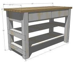 Wooden Kitchen Island Table Ana White Build Michaela U0027s Kitchen Island Diy Projects