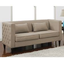 tufted sofa dune side tufted sofa and rectangular pillows set by i love living