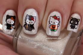 10 halloween nail art ideas polish groupie