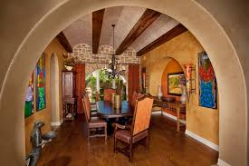 Tuscan Style Home By Jim Boles Custom Homes Mediterranean - Tuscan dining room