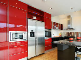 Ash Kitchen Cabinets by Red Kitchen Cabinets Pictures Ideas U0026 Tips From Hgtv Hgtv
