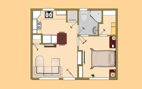 Big House Plans by Small House Plan Under 500 Sq Ft Good For The