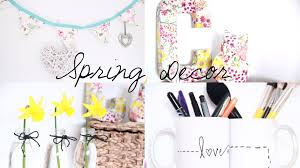 diy spring room decor inspiration youtube