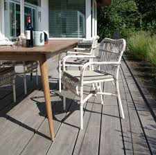 Polyethylene Patio Furniture by Traditional Chair Polyethylene With Armrests Garden Lucy