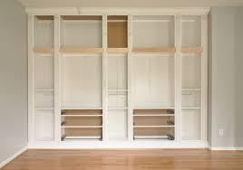 Ikea Bookshelves Built In by Ikea Hemnes Bookcase Hack Photo U2013 Home Furniture Ideas