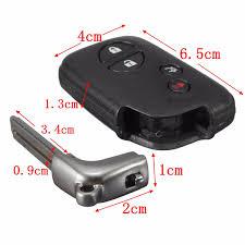 lexus lx470 key fob battery belanja new 4 buttons remote folding uncut flip key case shell for