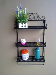 Bathroom Wall Shelving Ideas by Freestanding Bathroom Storage Bathroom Racks And Shelves Bathroom