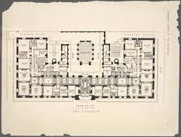 Servant Quarters Floor Plans 10 Elaborate Floor Plans From Pre World War I New York City