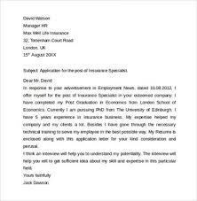 Entry level insurance agent resume Entry Level Insurance Underwriter Resume Sample   Latest