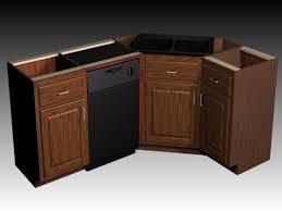 corner kitchen sink cabinet dimensions kitchen decoration