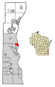 Wisconsin Map With Counties by Bayside Wisconsin Wikipedia