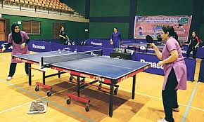 Table Tennis Tournament by Shabnam Ghalia Set Up Final Clash At Masters Tt Newspaper