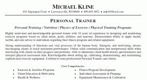 Personal Trainer Resume Example No Experience by Athletic Trainer Resume Sample Alexa Resume Trainer Resume