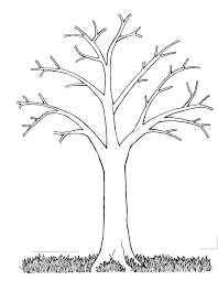 bare tree coloring page omeletta me
