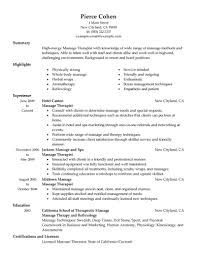 Job Resume Examples 2015 by Resume Massage Therapist Resume Examples