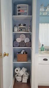 latest bathroom closet ideas with incredible organizing your linen