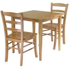 winsome groveland 3 piece dining set light oak hayneedle