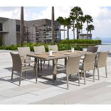 Teak Wood Patio Furniture Set - furniture appealing smith and hawken patio furniture for your