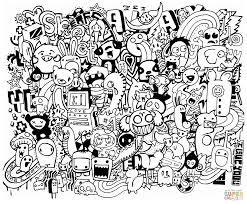 doodle coloring pages 1515