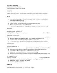 Simple Resume Examples For Students by Examples Of Resumes Resume Example Nursing Builder Basic Simple